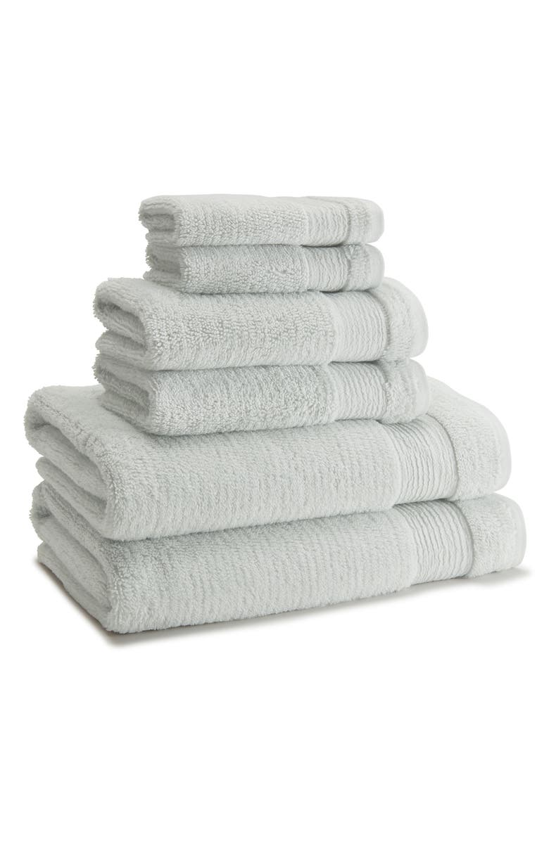 KASSATEX Pergamon Wash Towel, Main, color, FRESHWATER BLUE