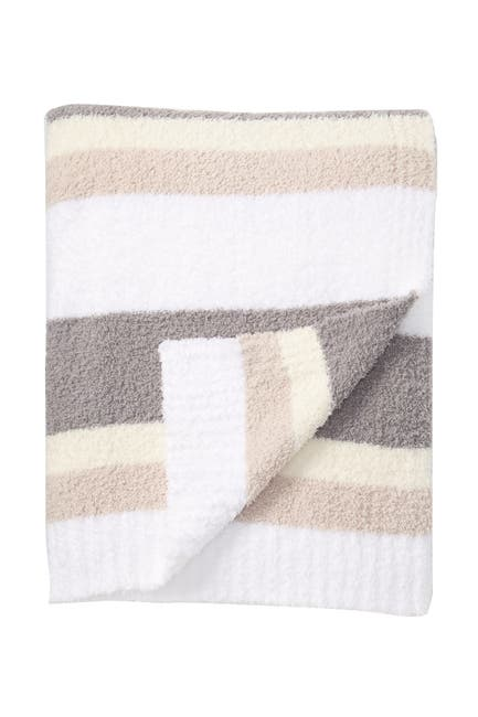 "Image of Barefoot Dreams CozyChic Multi-Stripe Throw - 45"" x 60"""