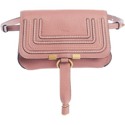 Chloe Marcie Convertible Belt Bag - Pink