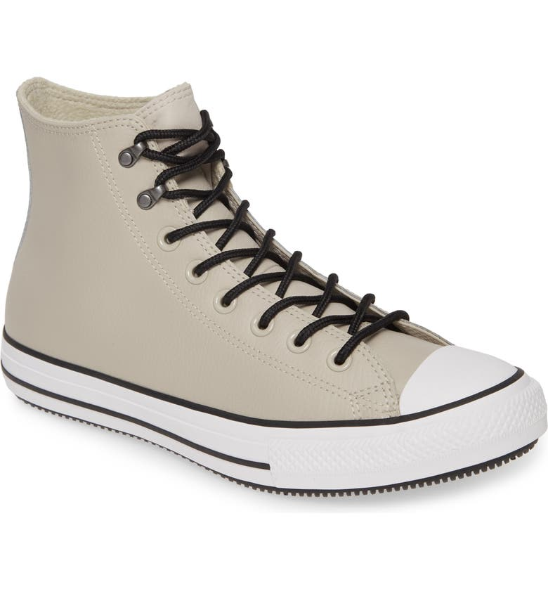 CONVERSE Chuck Taylor<sup>®</sup> All Star<sup>®</sup> Winter Hi Sneaker, Main, color, BARK/ WHITE/ BLACK LEATHER