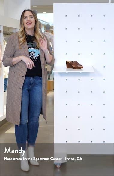 Cat Wedge Slide Sandal, sales video thumbnail