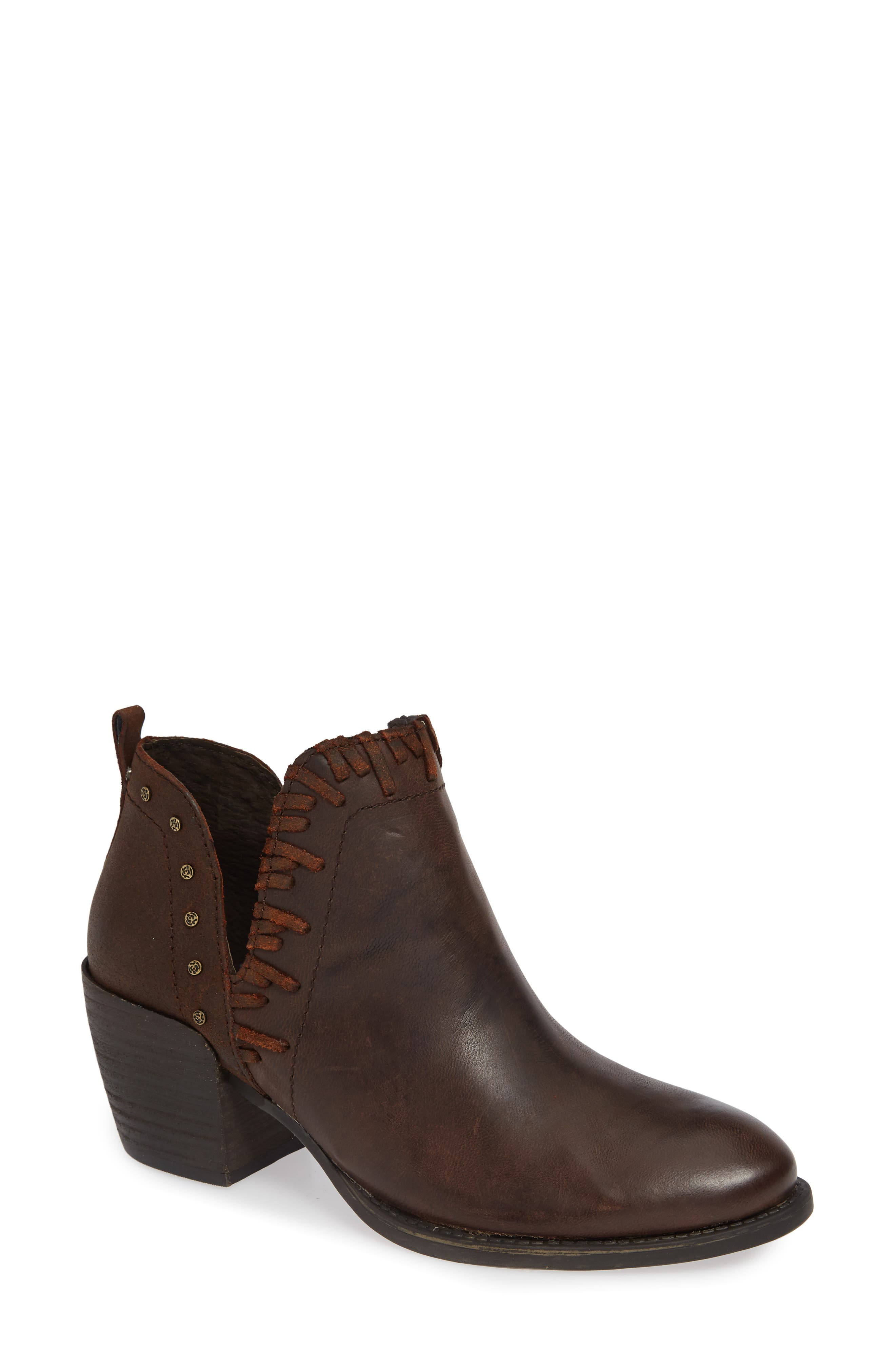 Otbt Santa Fe Ankle Bootie- Brown