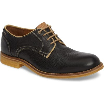 J & m 1850 Howell Plain Toe Derby, Black