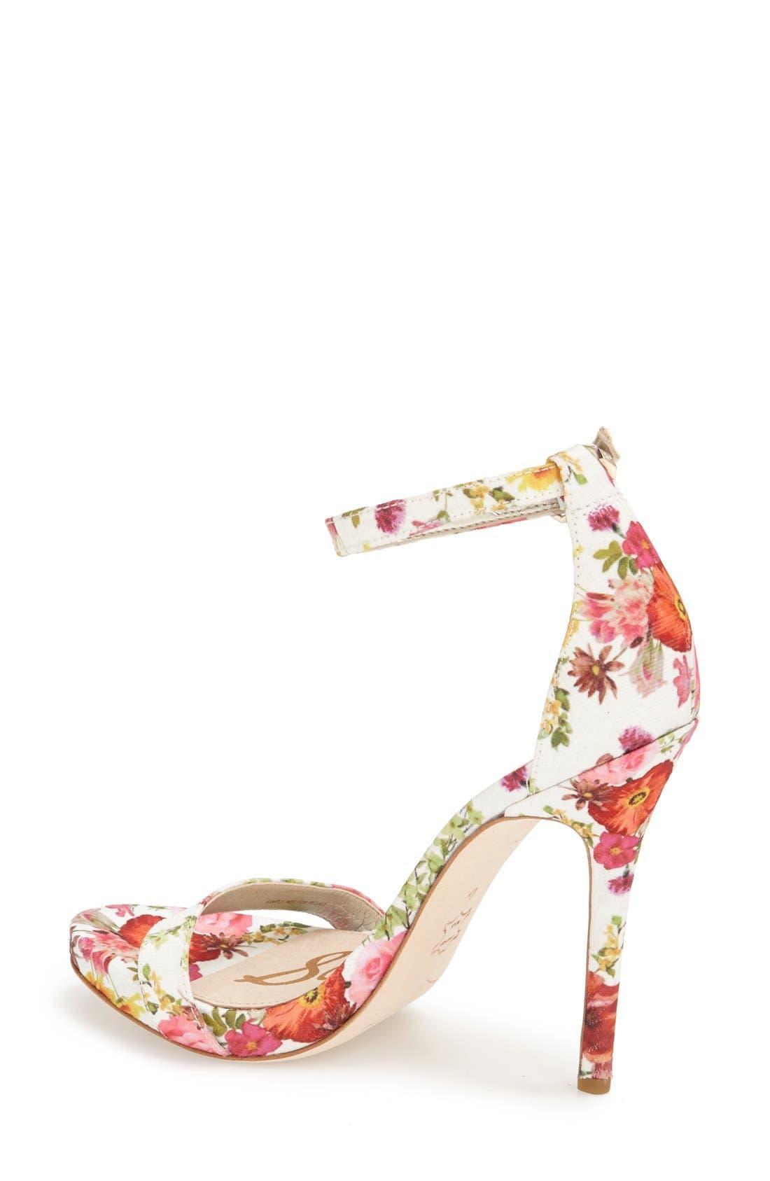 ,                             'Eleanor' Ankle Strap Sandal,                             Alternate thumbnail 86, color,                             101