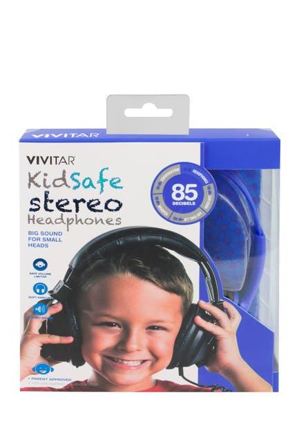 Image of VIVITAR Kid Safe Stereo Headphones