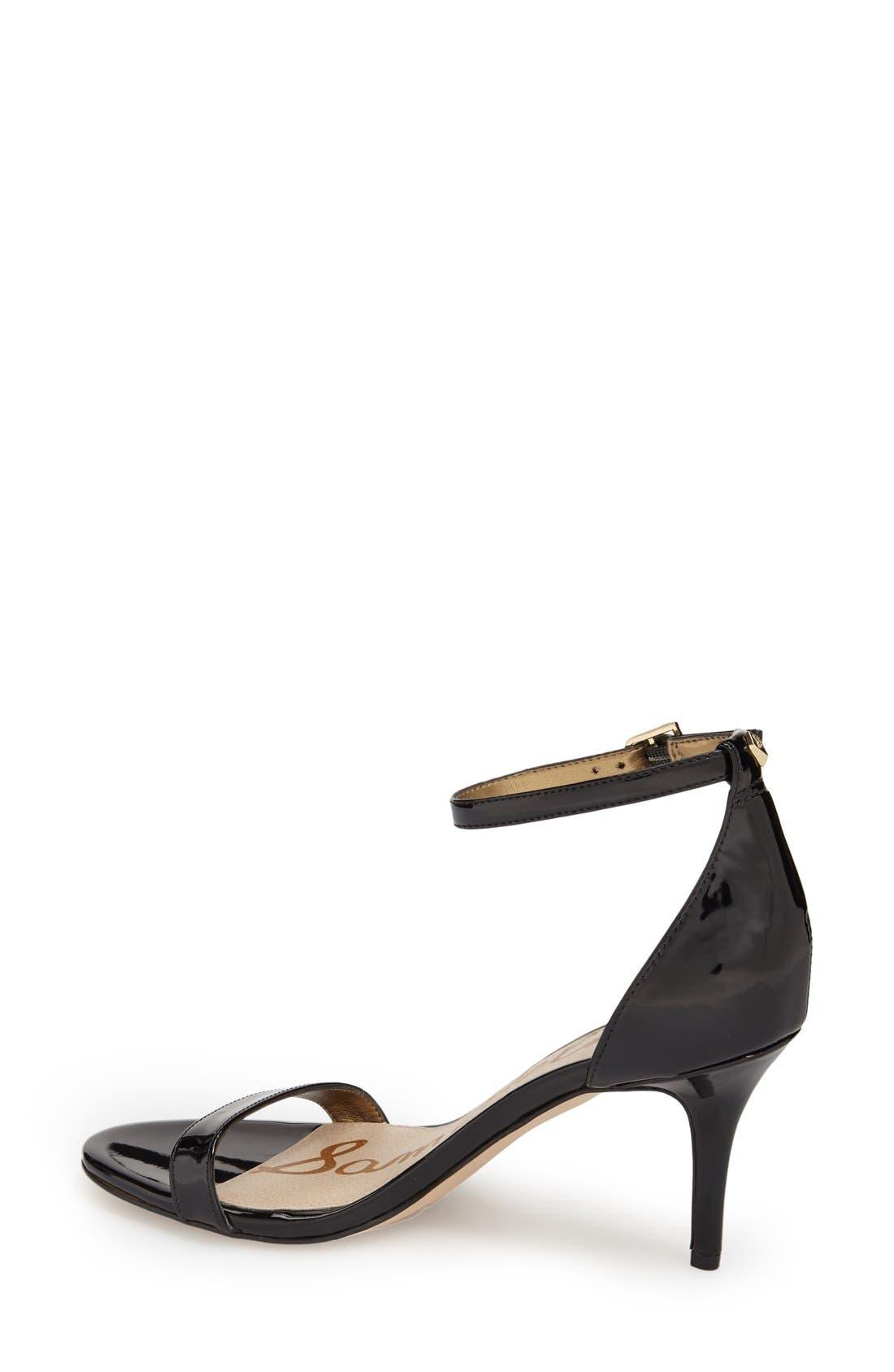 ,                             'Patti' Ankle Strap Sandal,                             Alternate thumbnail 143, color,                             002