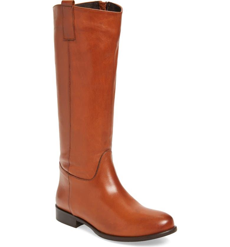 CORDANI Benji 2 Knee High Riding Boot, Main, color, COGNAC LEATHER