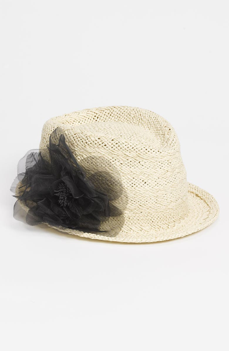 AUGUST HAT 'Garden Party' Fedora, Main, color, 001