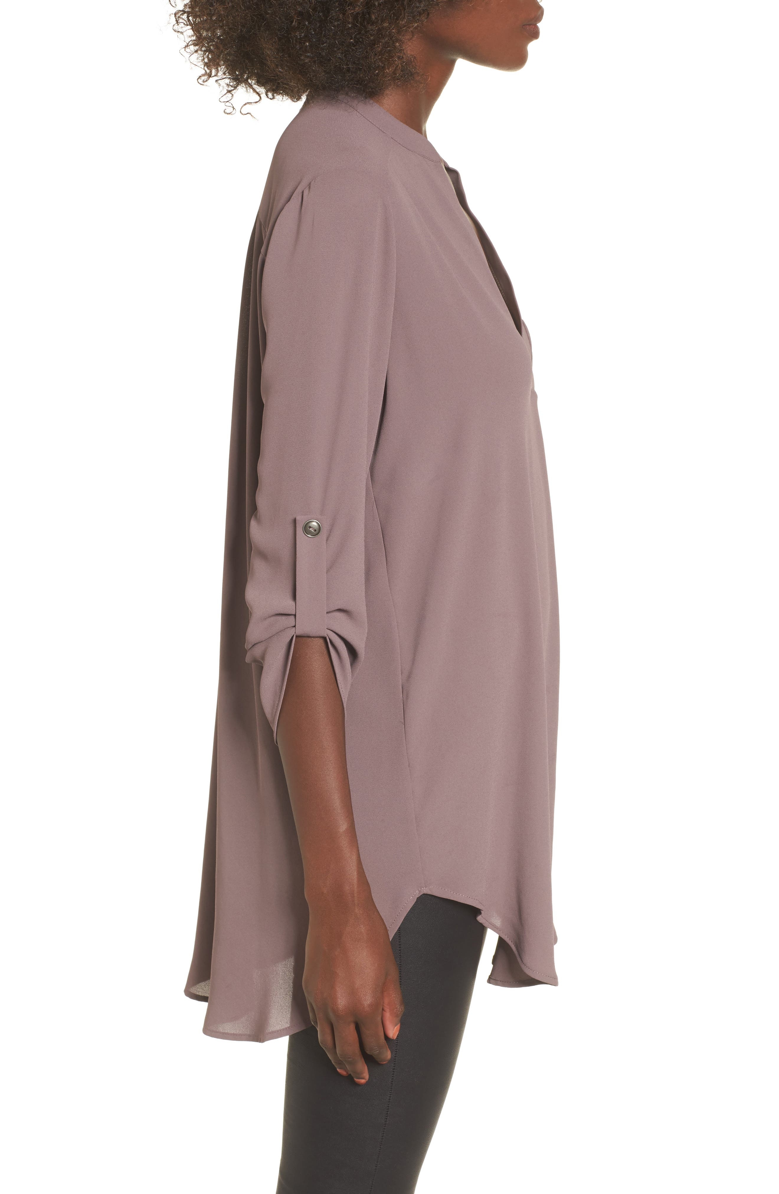 ,                             Perfect Roll Tab Sleeve Tunic,                             Alternate thumbnail 42, color,                             200