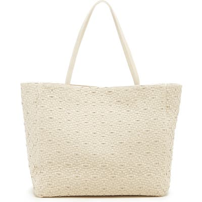 Sole Society Ashby Woven Tote - Ivory