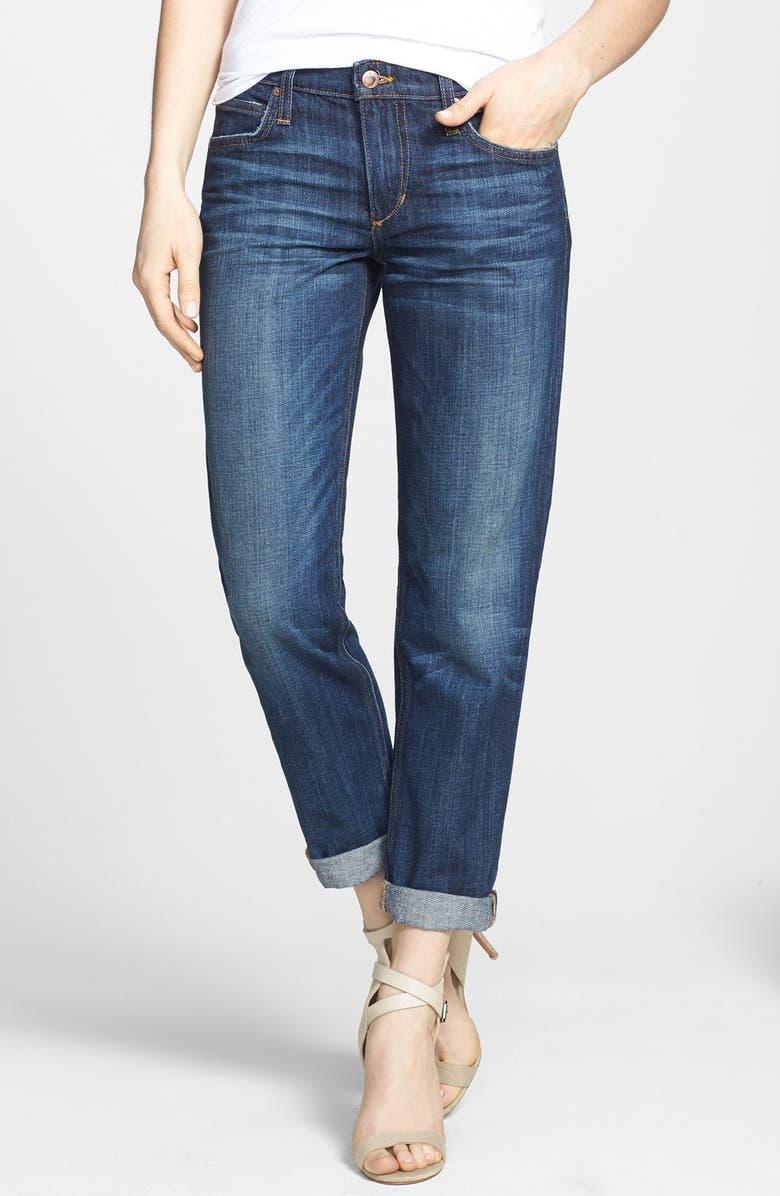 JOE'S 'Easy Highwater' Crop Boyfriend Jeans, Main, color, 400