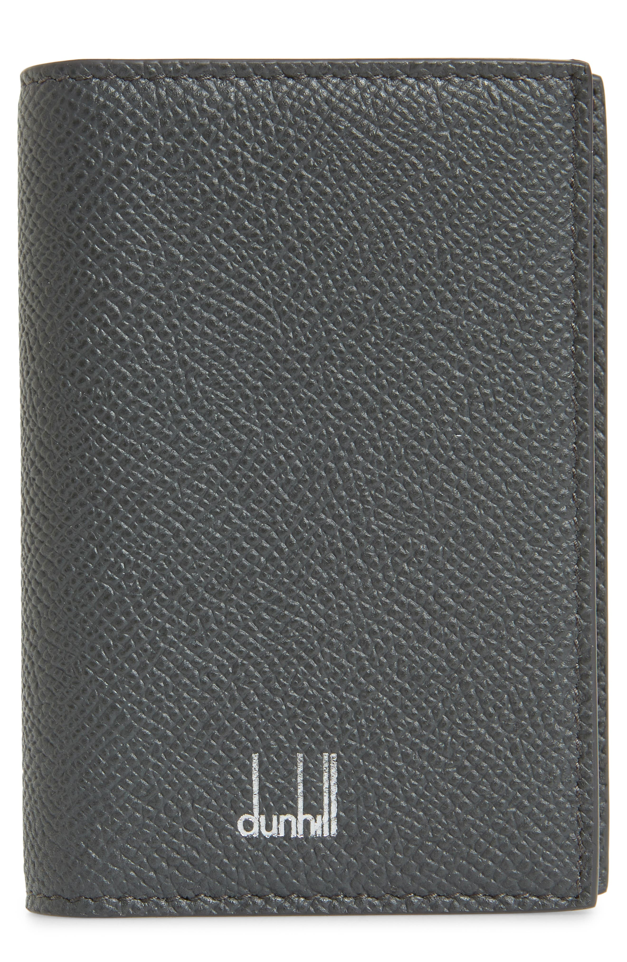 Dunhill Cadogan Card Case - Grey