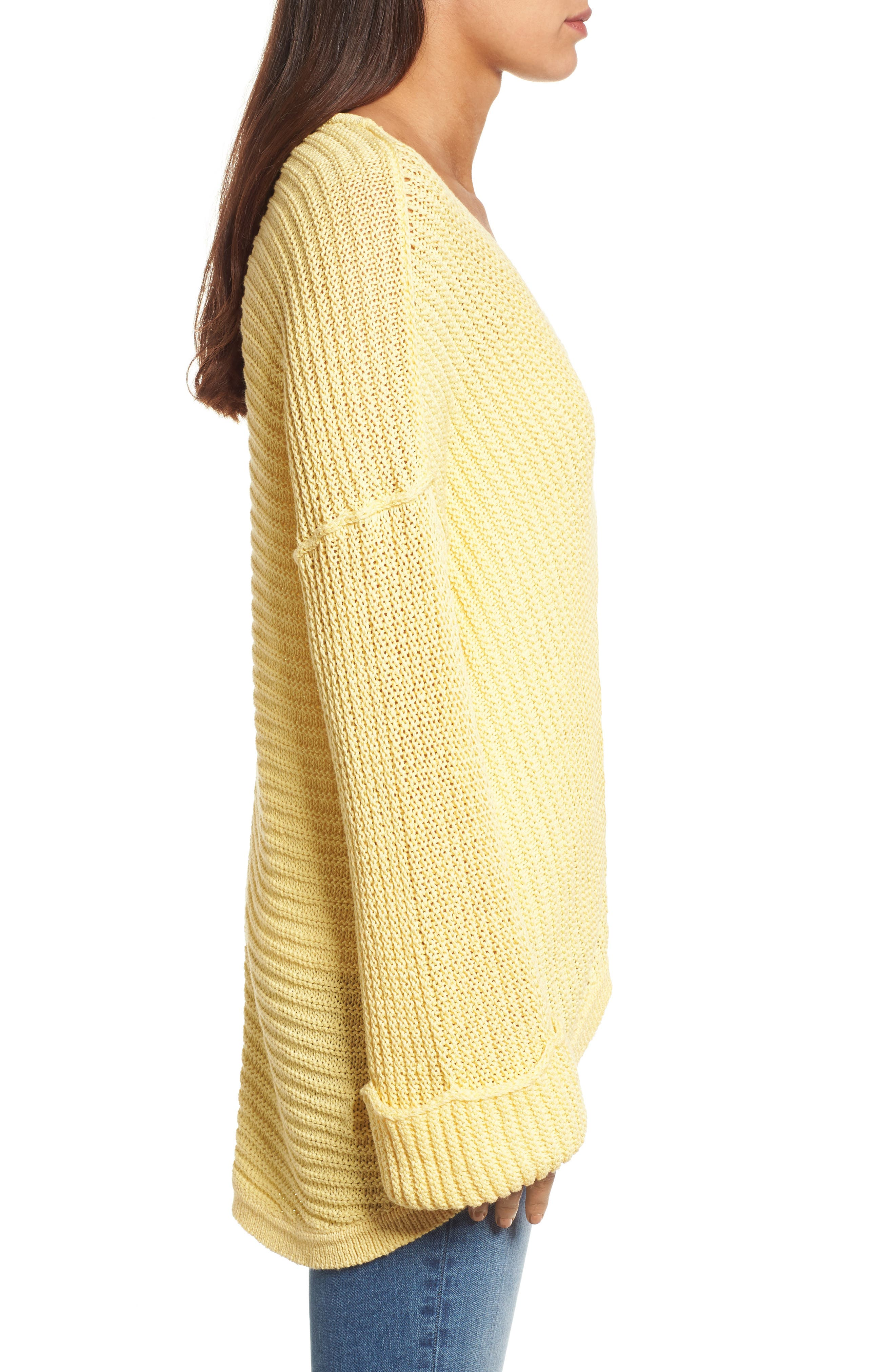 ,                             Cuffed Sleeve Sweater,                             Alternate thumbnail 39, color,                             740