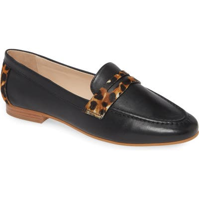 Johnston & Murphy Petrina Penny Loafer, Black