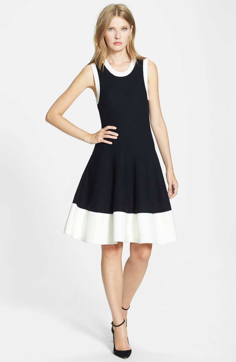 KATE SPADE NEW YORK 'quincy' sweater dress, Main, color, 001