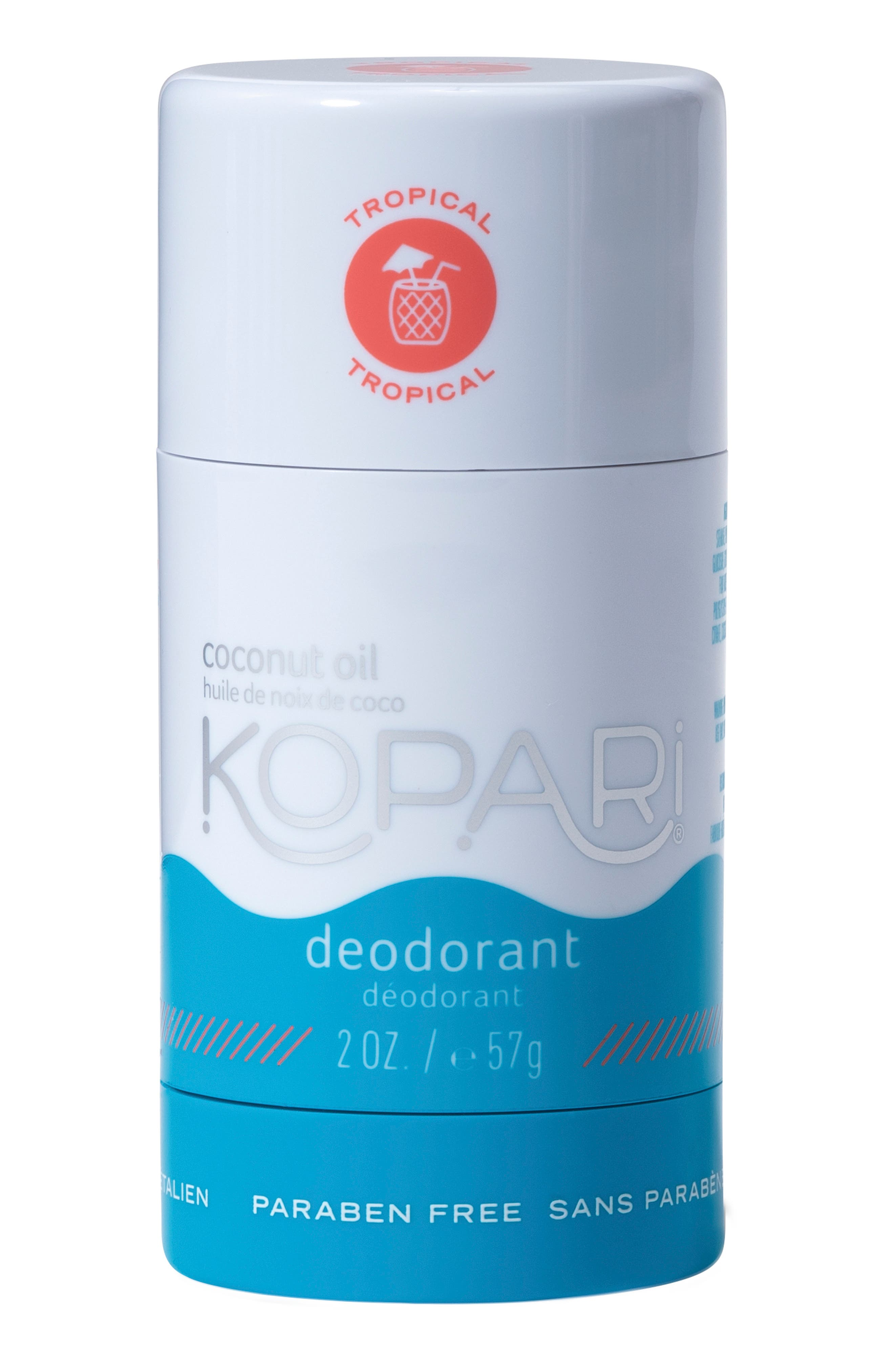Natural Coconut Tropical Deodorant