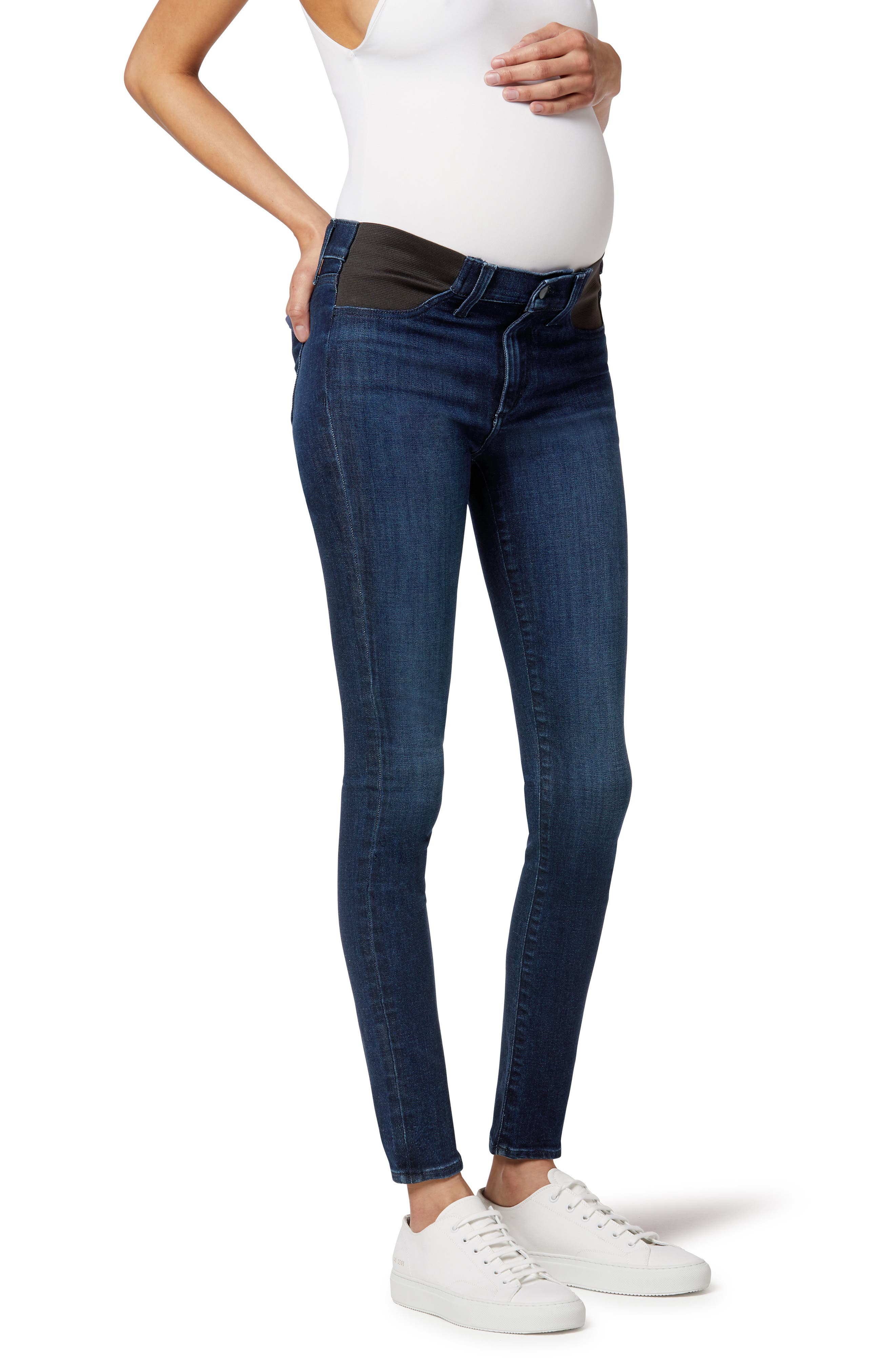 The Icon Ankle Skinny Maternity Jeans