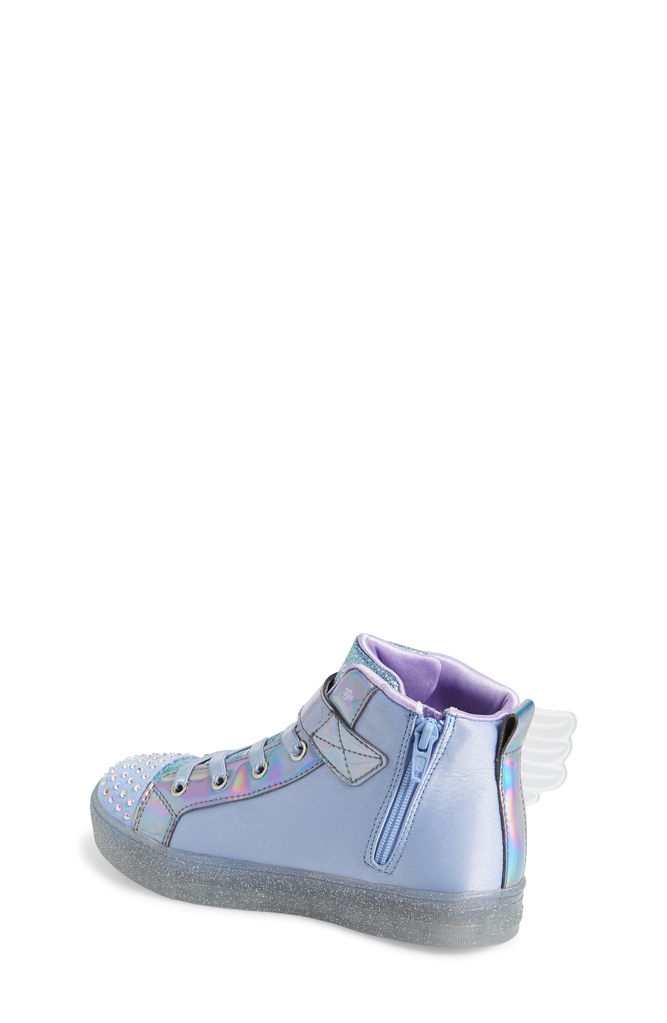 ,                             Twinkle Toes Light-Up Sneaker,                             Alternate thumbnail 2, color,                             PERIWINKLE