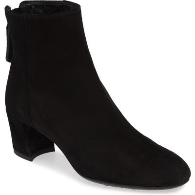 Agl Almond Toe Bootie - Black