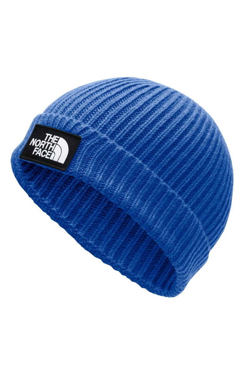 THE NORTH FACE Cuffed Beanie, Main, color, BLUE