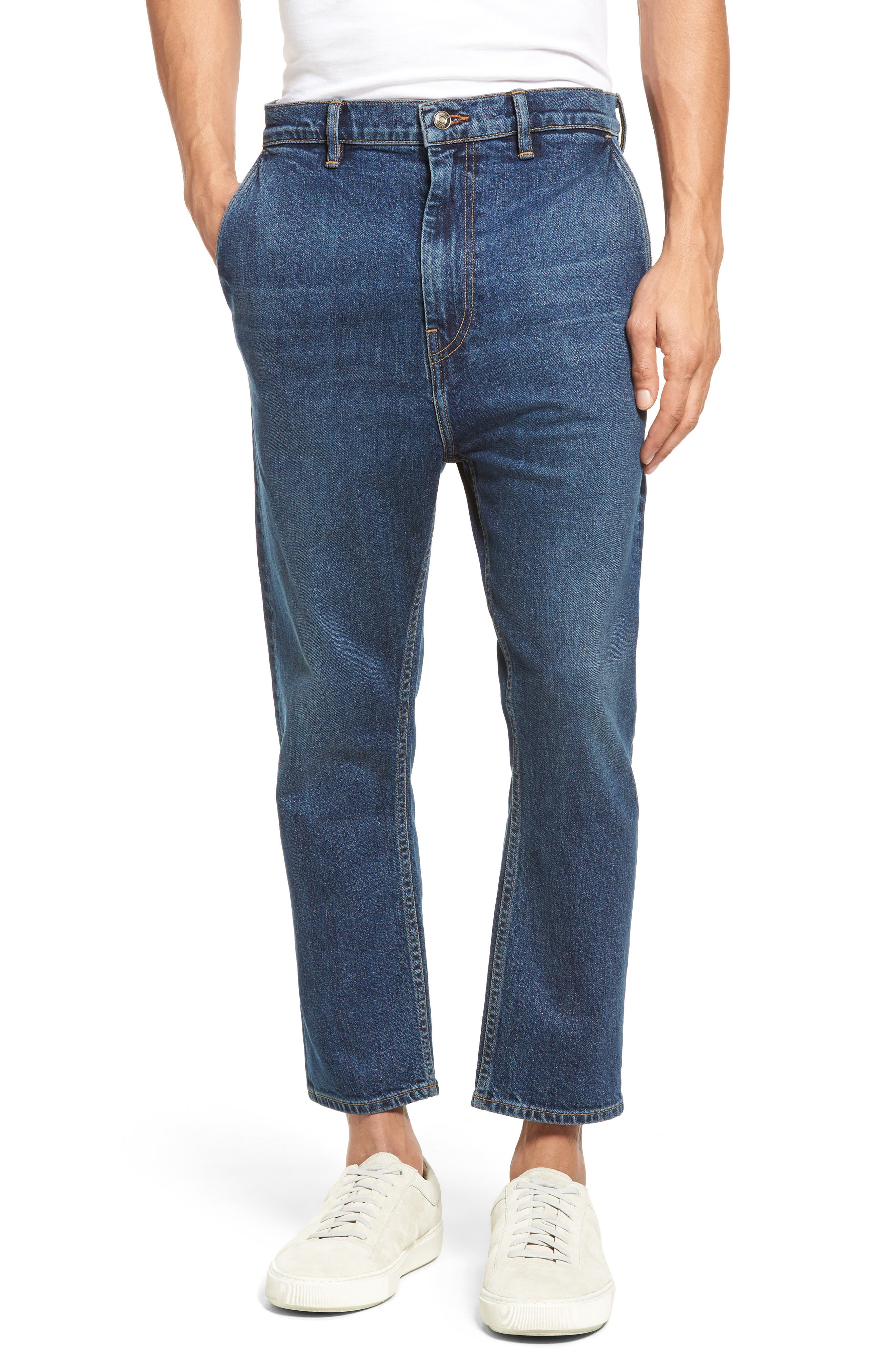 Image of Vince Crop Slim Trouser Jeans