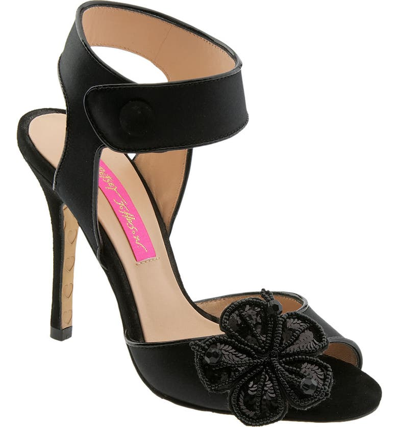 BETSEY JOHNSON 'Law' Pump, Main, color, 004