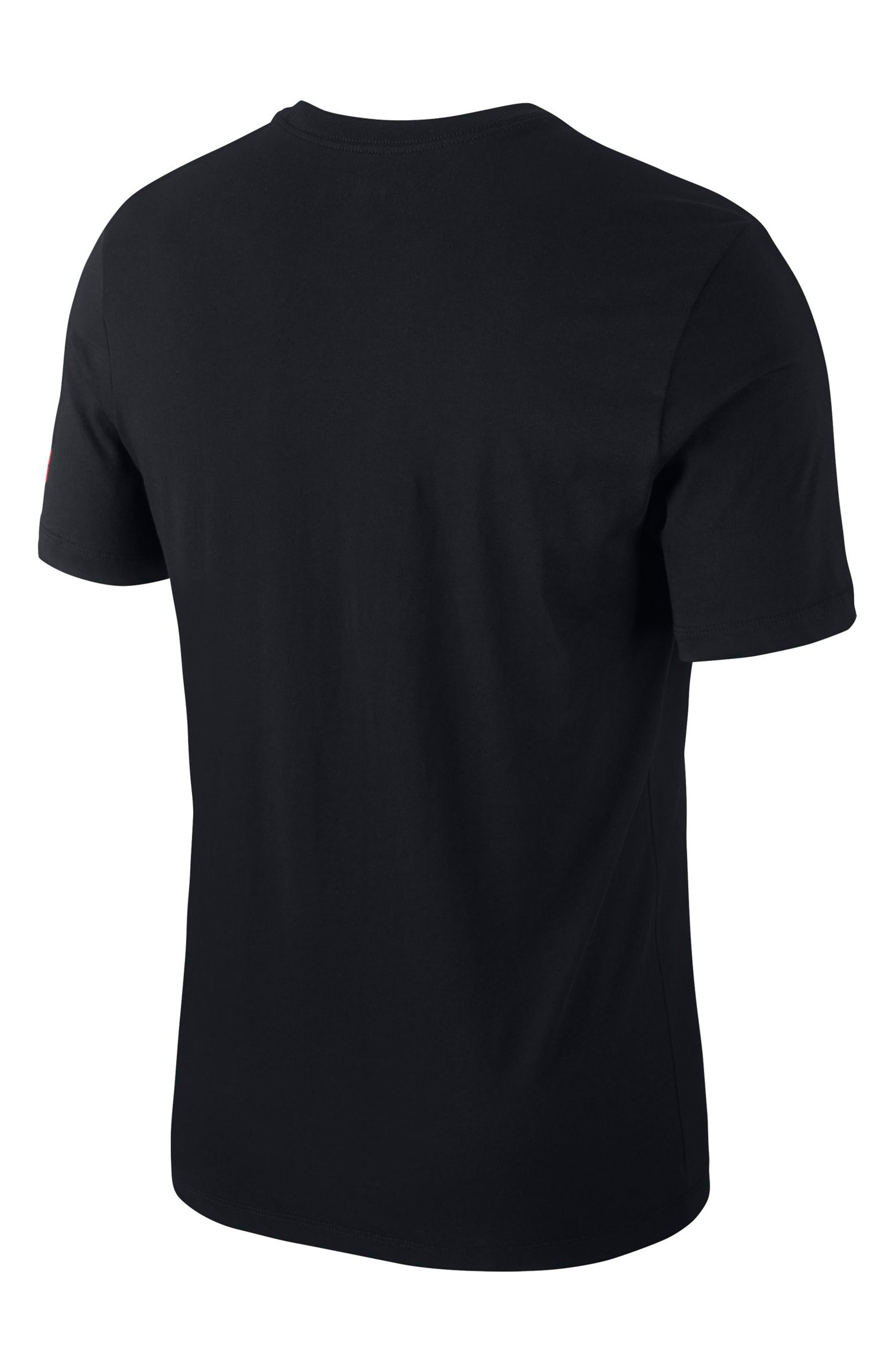 ,                             Camo Jumpman T-Shirt,                             Alternate thumbnail 7, color,                             010