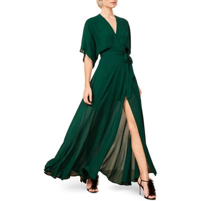 Reformation Winslow Maxi Dress, Green