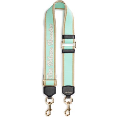 The Marc Jacobs Mj Script Webbing Guitar Bag Strap - Green