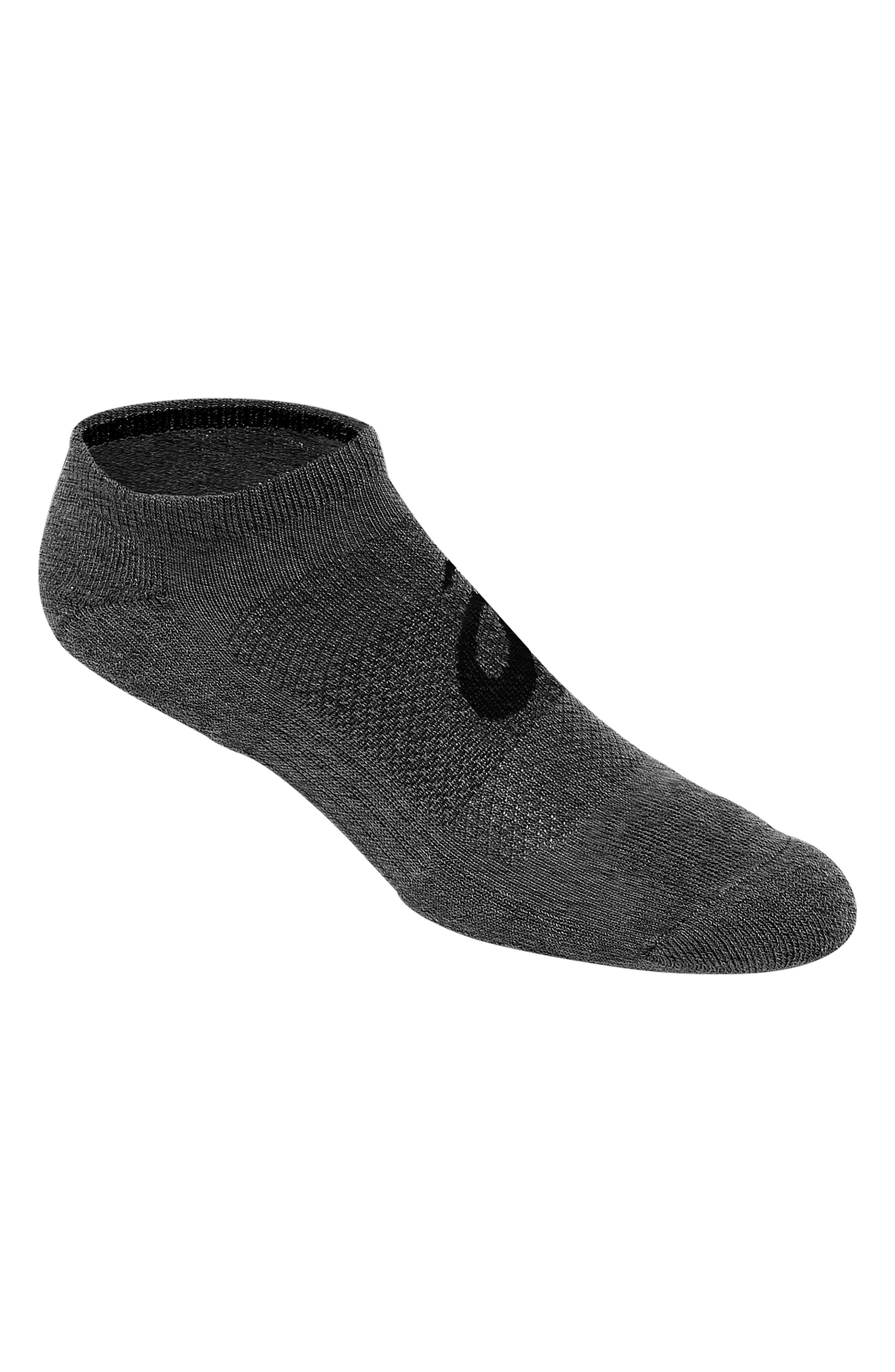 Men's Asics Invasion 3-Pack No-Show Socks