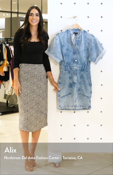 Acid Wash Denim Dress, sales video thumbnail