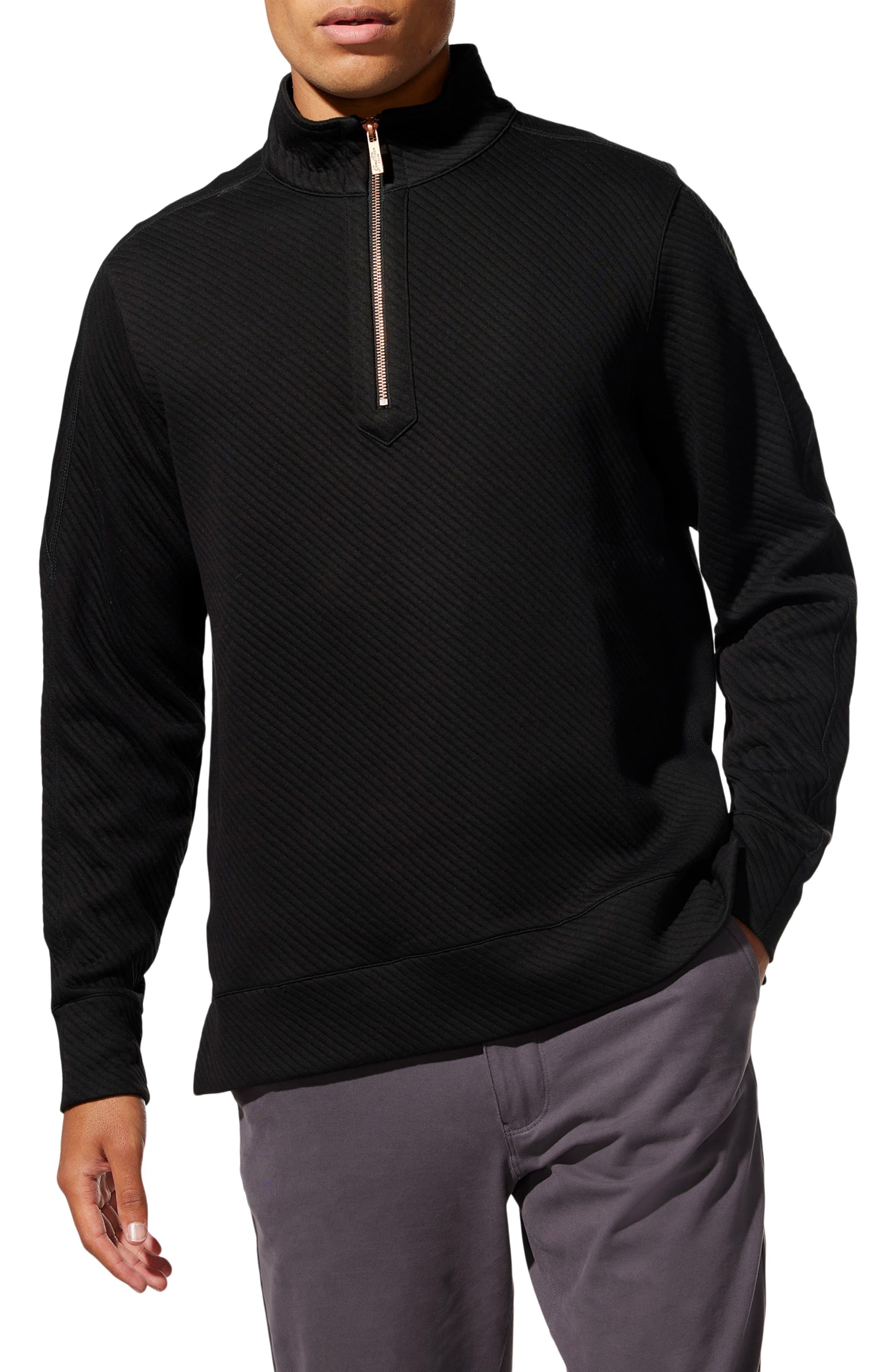 Slim Fit Half Zip Pullover