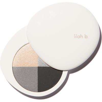 Lilah B. Palette Perfection Eye Quad - B. Fabulous (Smoky Palette)