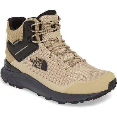The North Face Val Mid Waterproof Hiking Boot- Beige