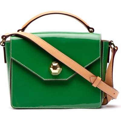 Frances Valentine Mini Midge Leather Satchel - Green