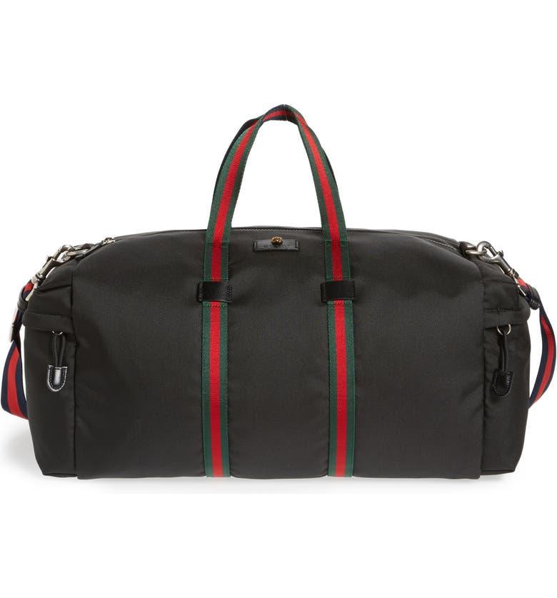 a66a60b76 Techpack Canvas Duffle Bag, Main, color, 001