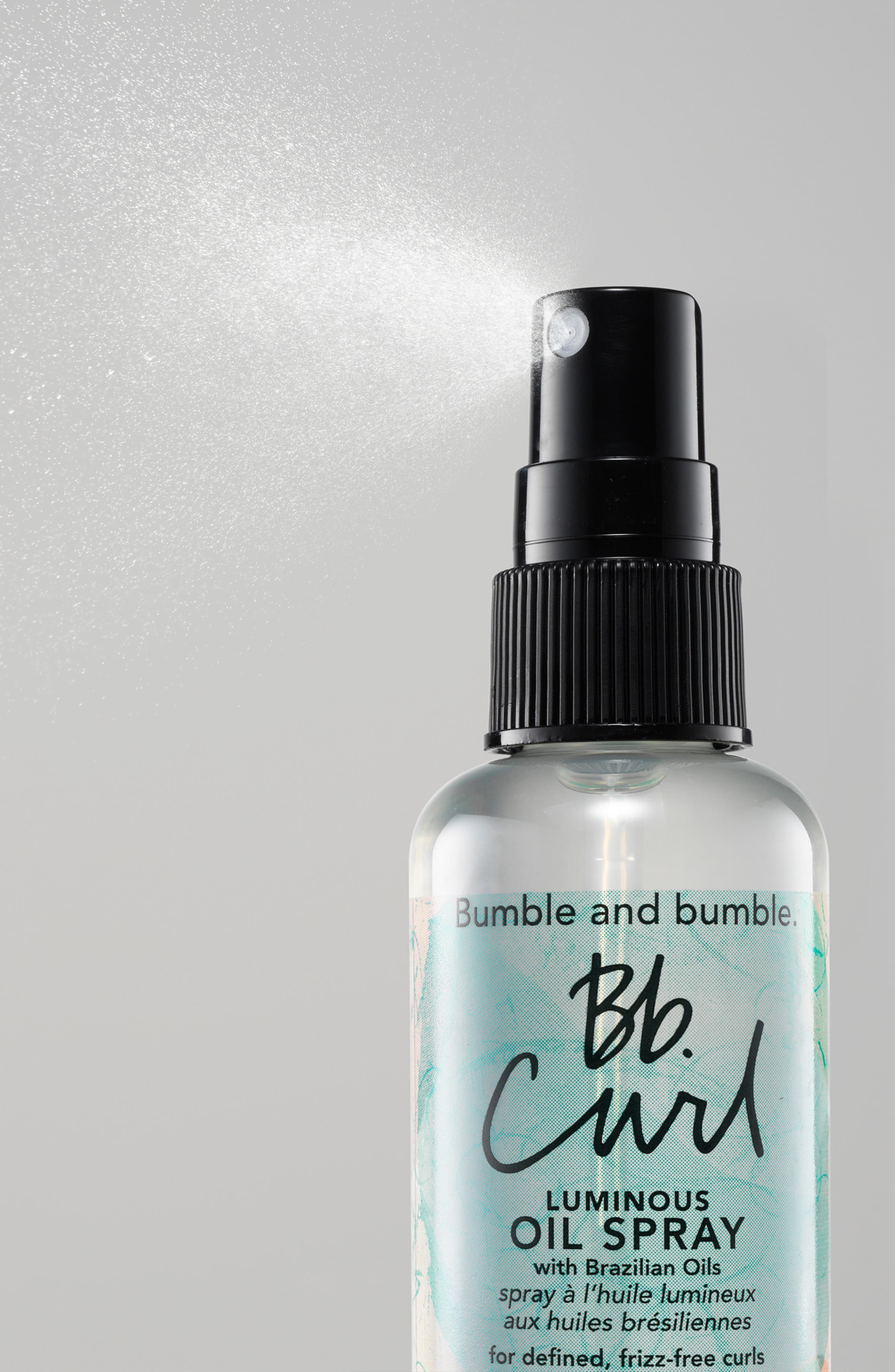 ,                             Bumble and bumble Curl Luminous Oil Spray,                             Alternate thumbnail 3, color,                             NO COLOR