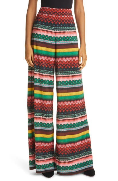 Alice And Olivia ATHENA WIDE LEG PANTS