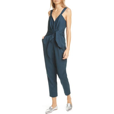 Rebecca Taylor Sleeveless Jumpsuit, Blue