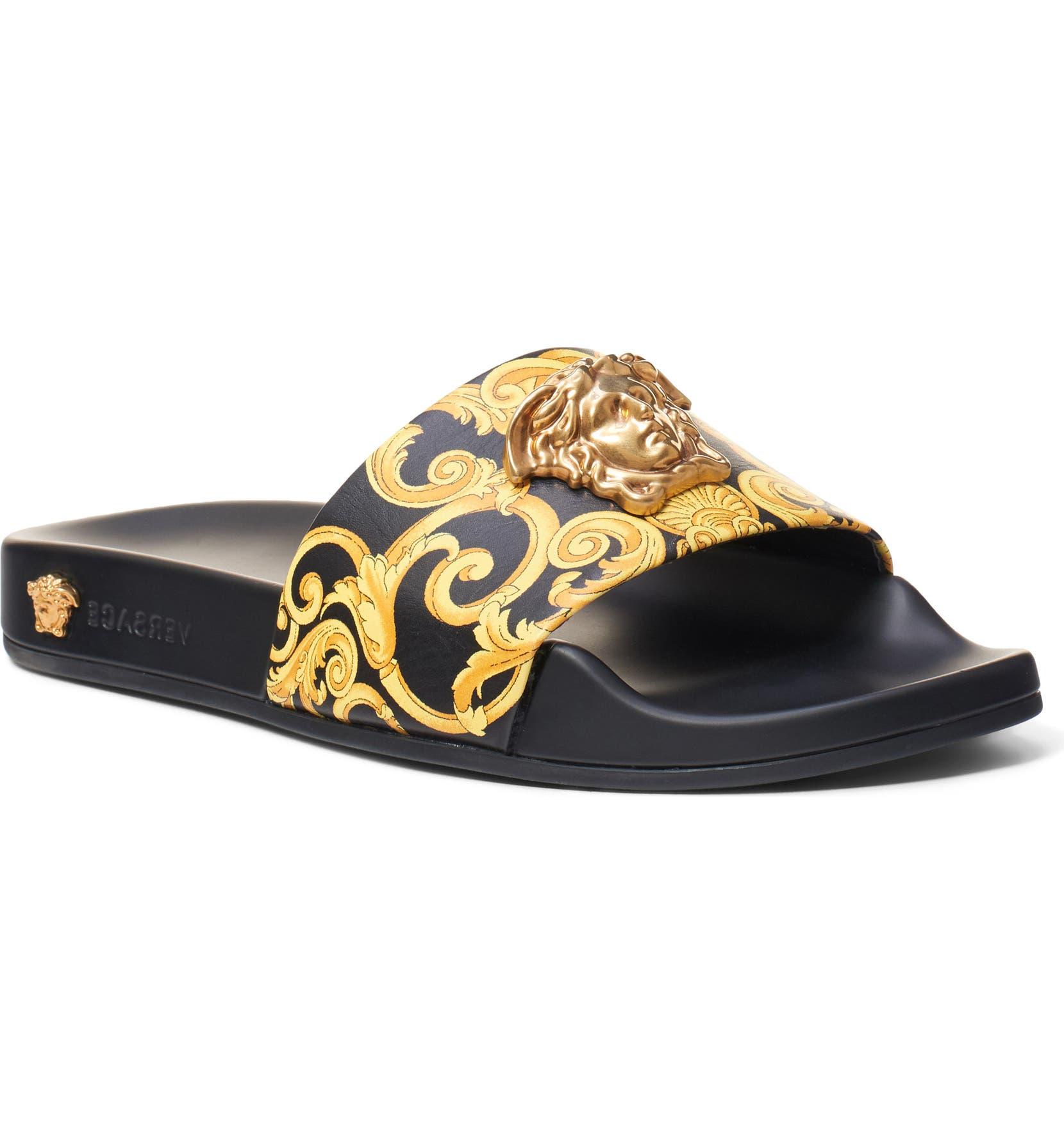 09e51b2d Medusa Hibiscus Slide Sandal