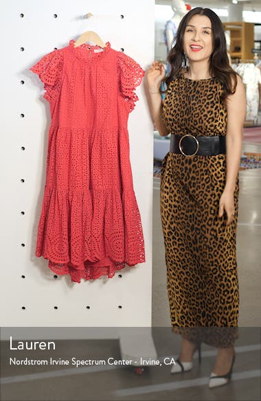 Norah Eyelet Dress, sales video thumbnail