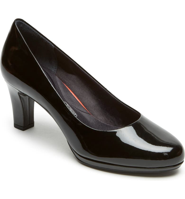 ROCKPORT Total Motion Leah Pump, Main, color, BLACK PATENT
