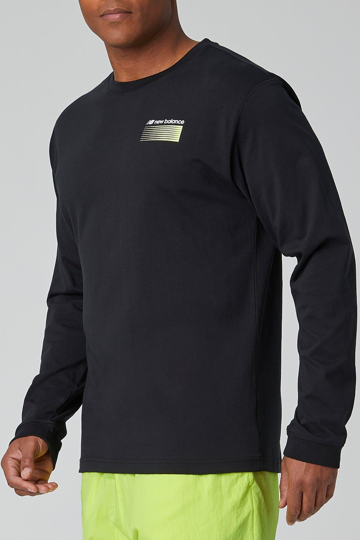 Image of New Balance Sport Style Optiks Long Sleeve T-Shirt