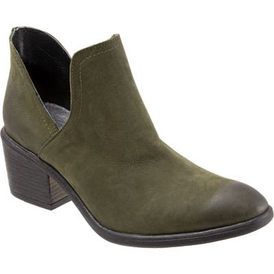Bueno Dylan Cutout Bootie - Green