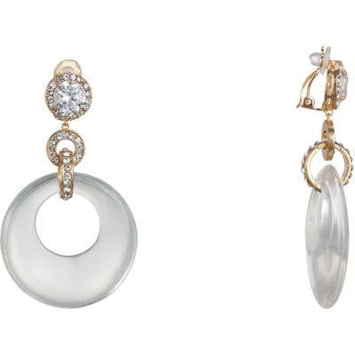 Nina Disc Clip-On Earrings