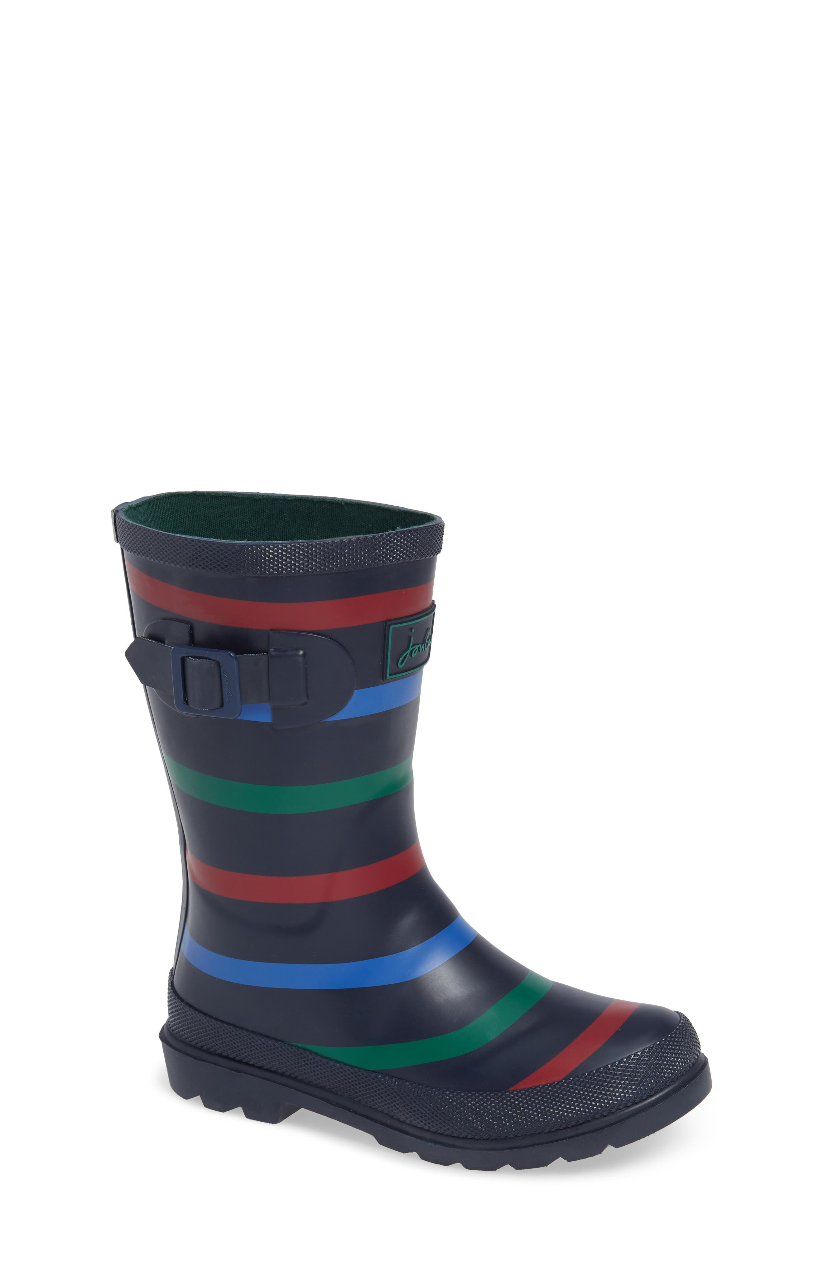 Joules Welly Print Waterproof Rain Boot