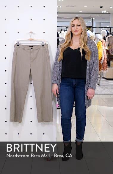 Enzyme Wash Crop Boyfriend Pants, sales video thumbnail