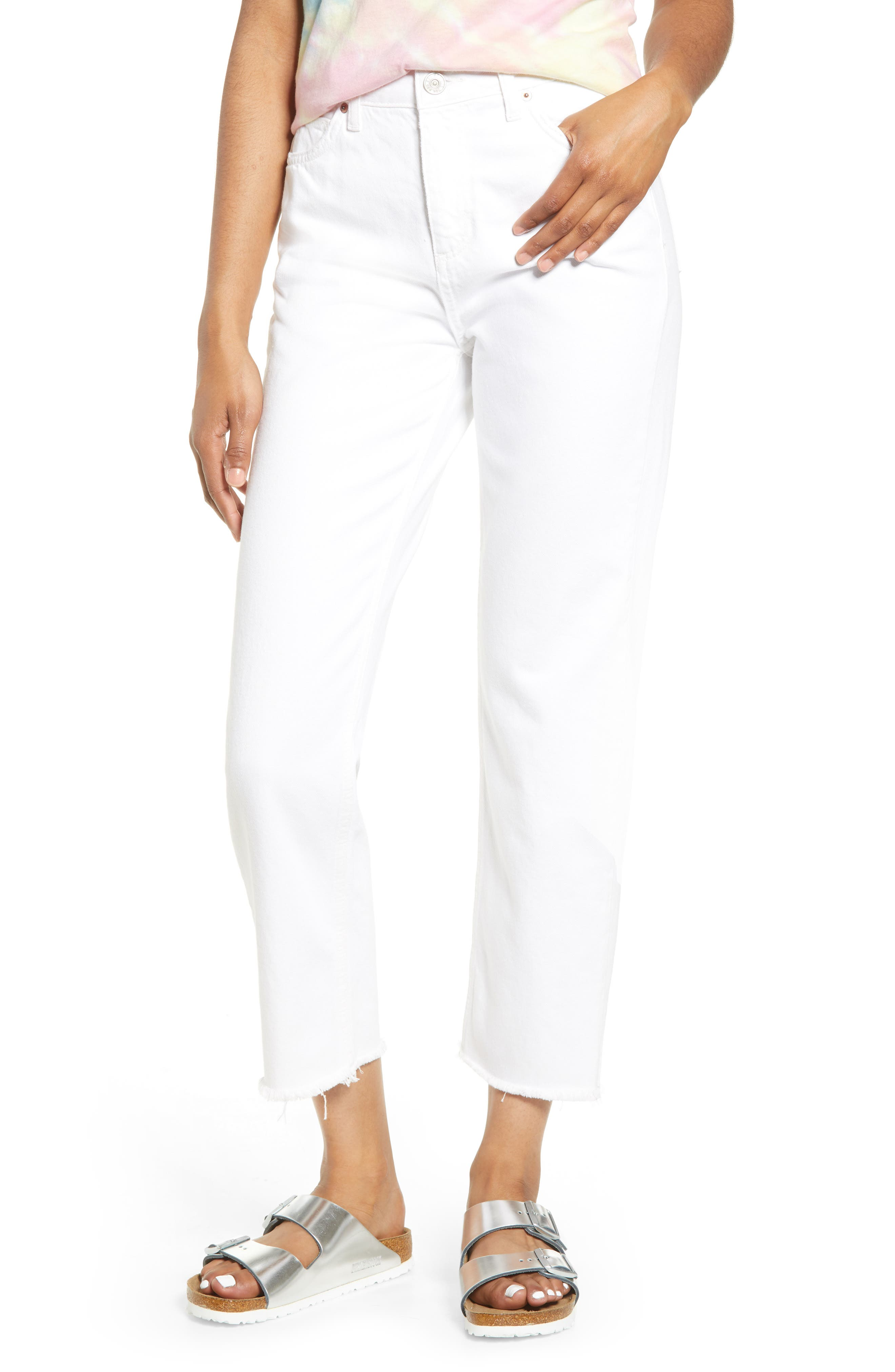 BDG Urban Outfitters Pax High Waist Crop Jeans | Nordstrom