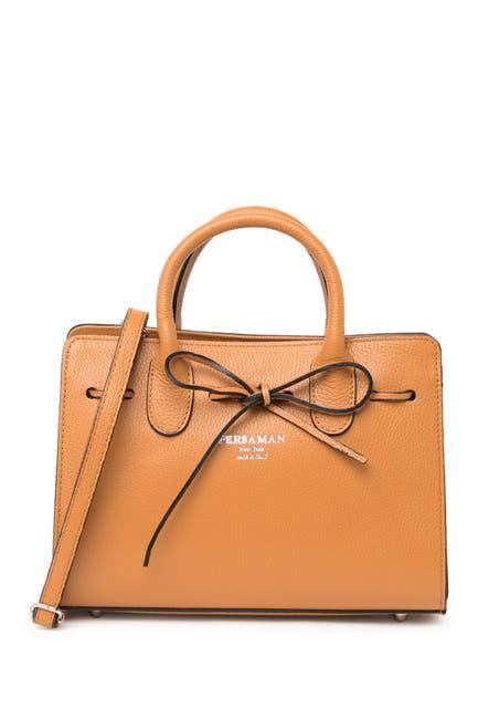 Image of Persaman New York Aubrey Leather Crossbody Bag