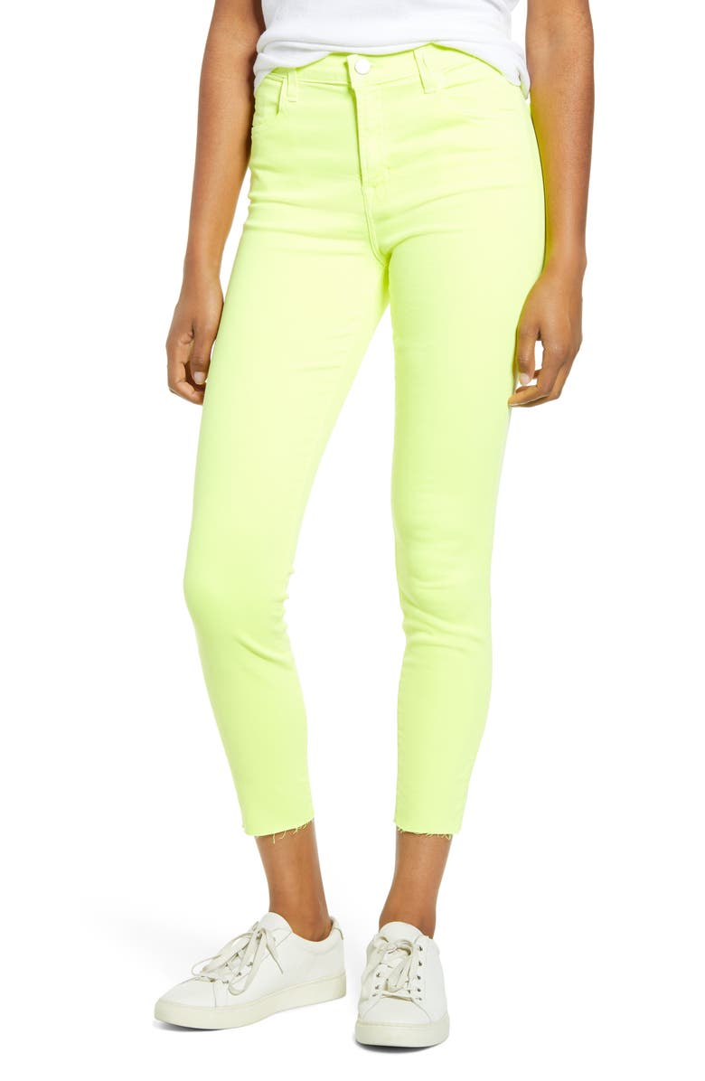 J BRAND Alana High Rise Crop Skinny Jeans, Main, color, 701